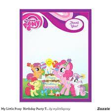 Resultado De Imagen Para Tarjeta My Little Pony Crear