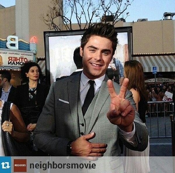 Neighbors premiere in LA today April 28, 2014