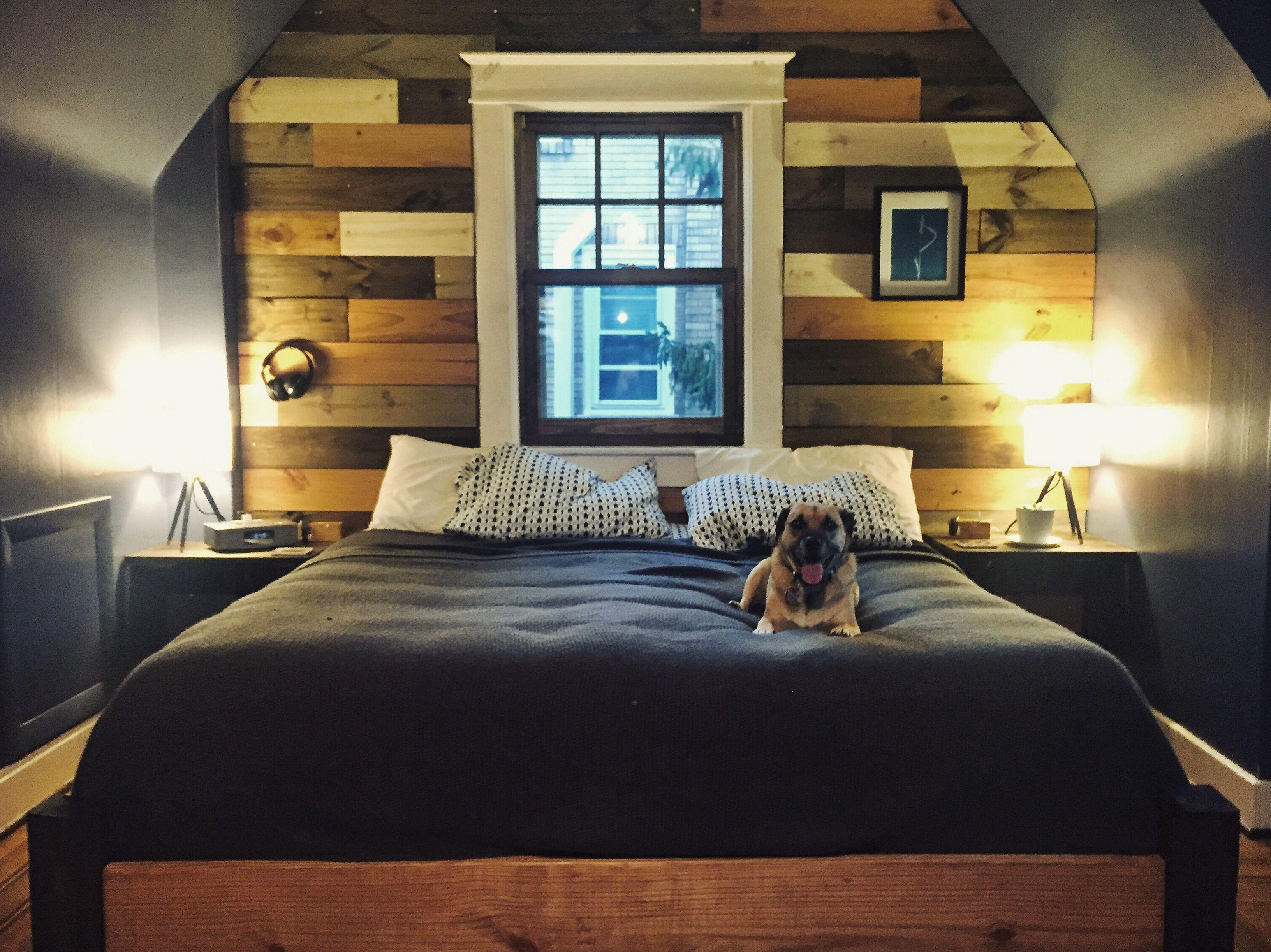 Lovely Kick Ass Accent Wall: Bedroom Renovation   Imgur