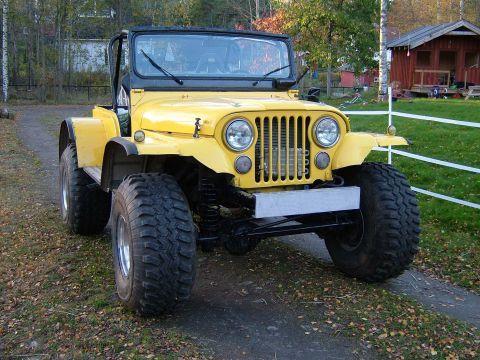 Jeep Cj 5 Looks Like Full Width Axles From 1 2 Ton Truck Jeep Cj Jeep Jeep Jku