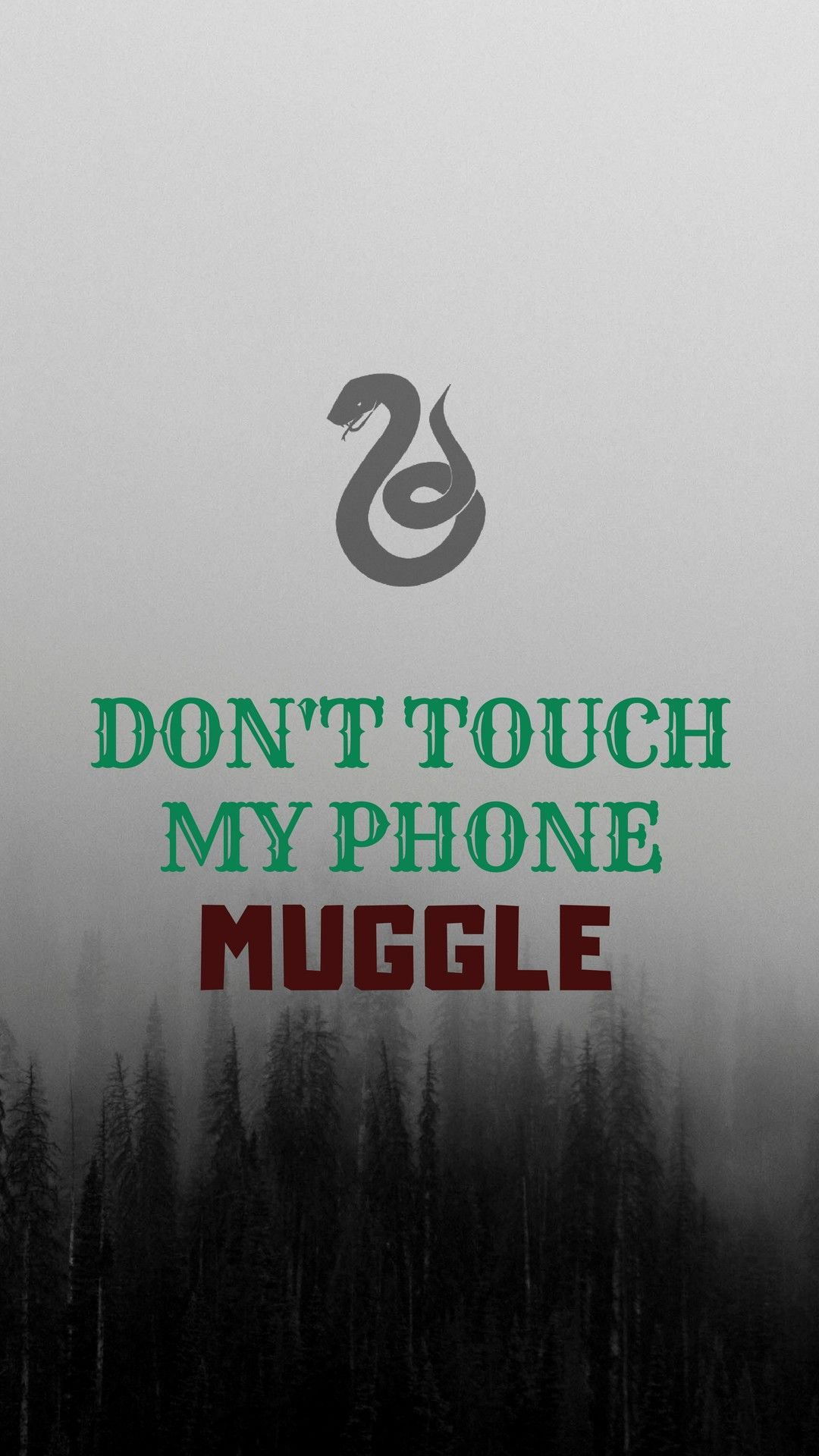 Don T Touch My Phone Muggle Dont Touch My Phone Wallpapers Harry Potter Wallpaper Harry Potter