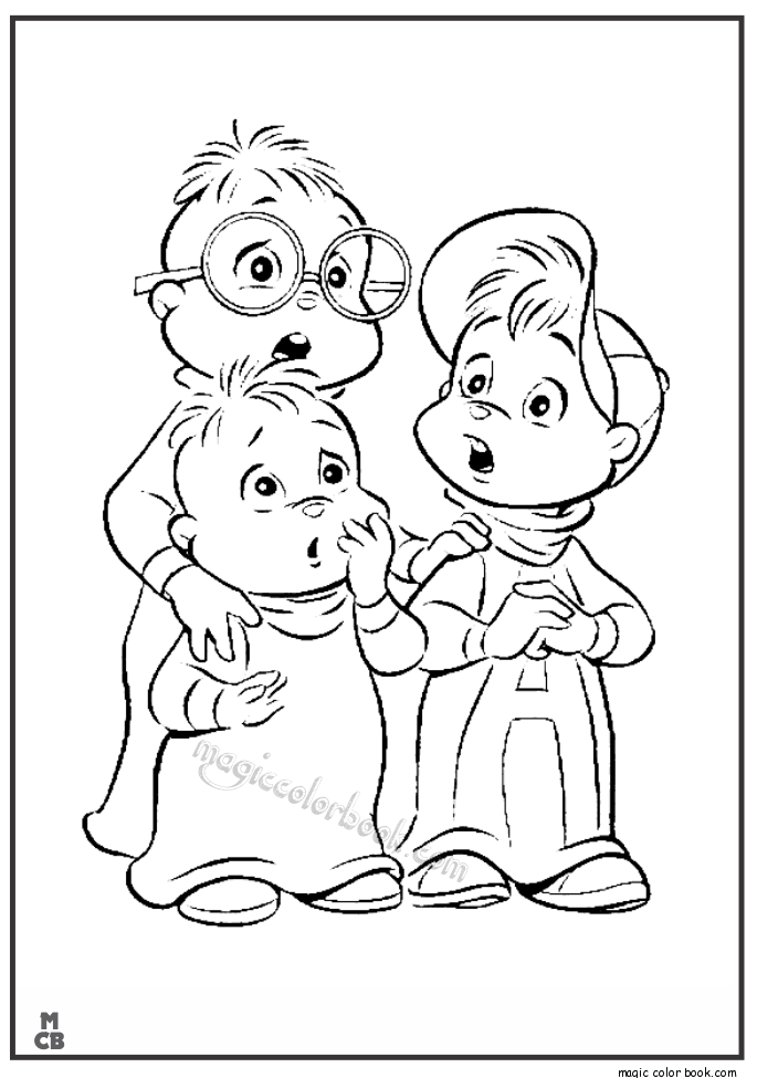 alvincl6 alvin and the chipmunks drawings az coloring pages