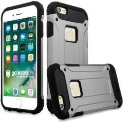Panzer Outdoor Case Grau für Ihr iPhone 7Gahatoo