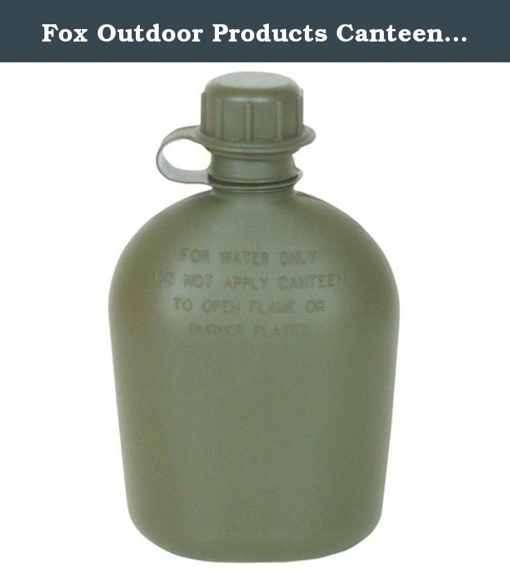2-Piece Fox Outdoor Products Canteen