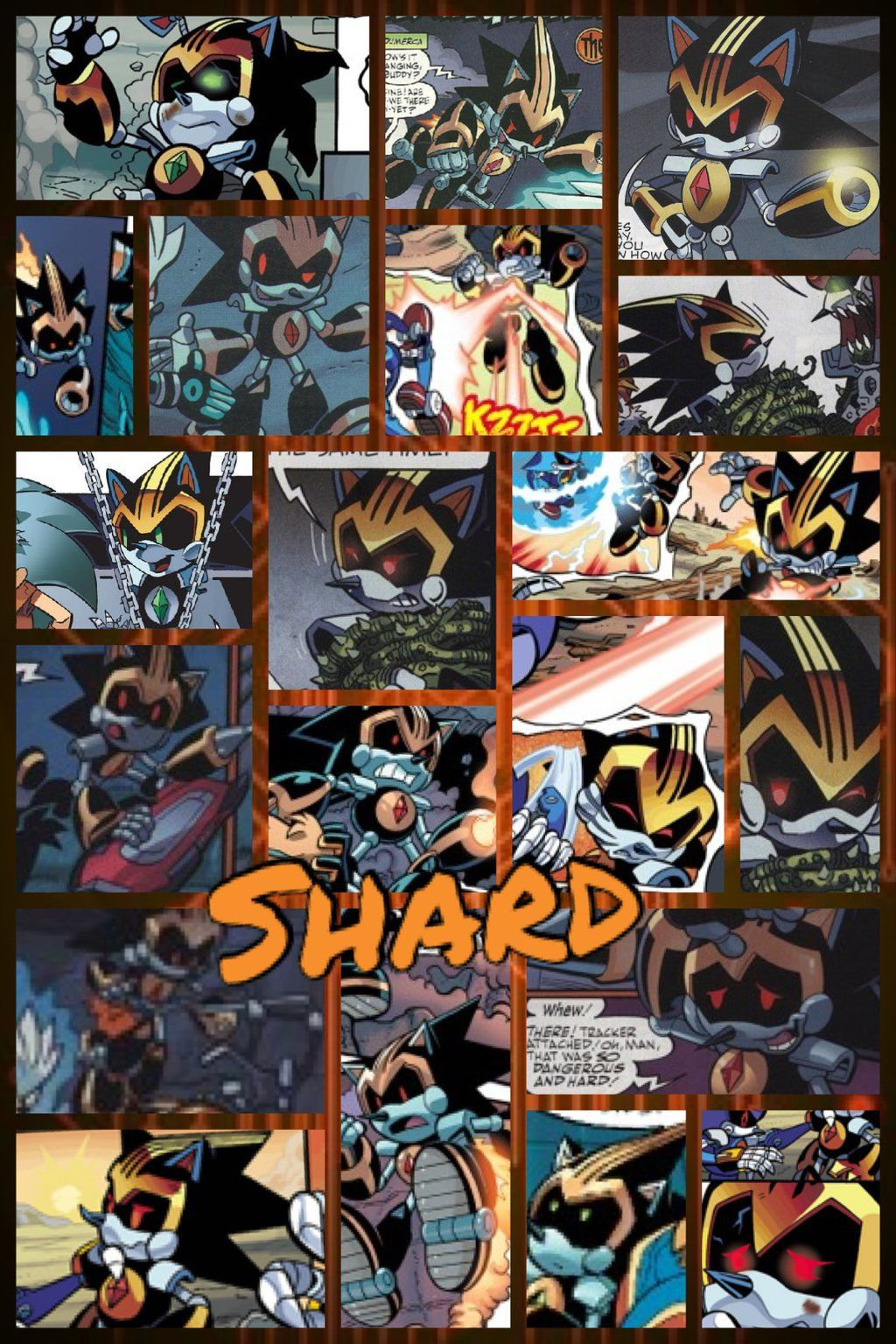 Shard the Metal Sonic | Greatest Sonic Characters and