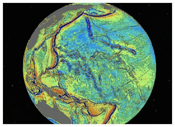 The seafloor map revealed 15,000 new seamounts.