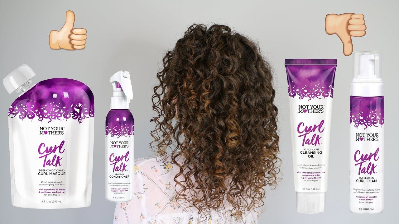 NEW NYM Curl Talk Review & Demo Routine in 2020 Curly