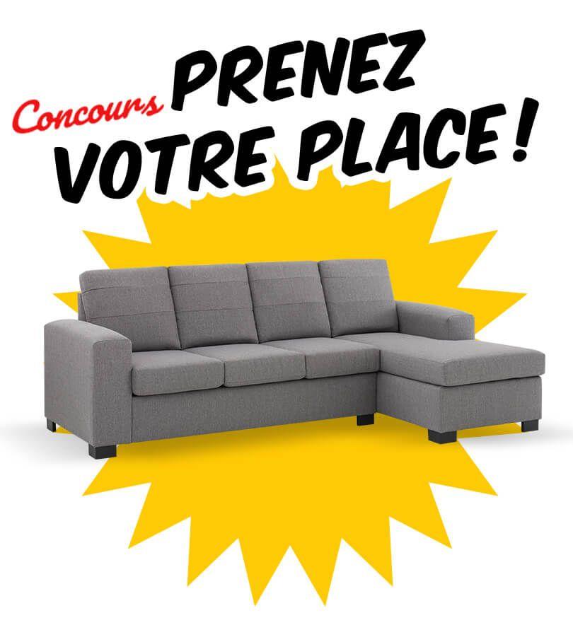 Gagnez Un Superbe Sofa Modulaire Economax De 799 Gagner Un Voyage Concours Gratuit Concours