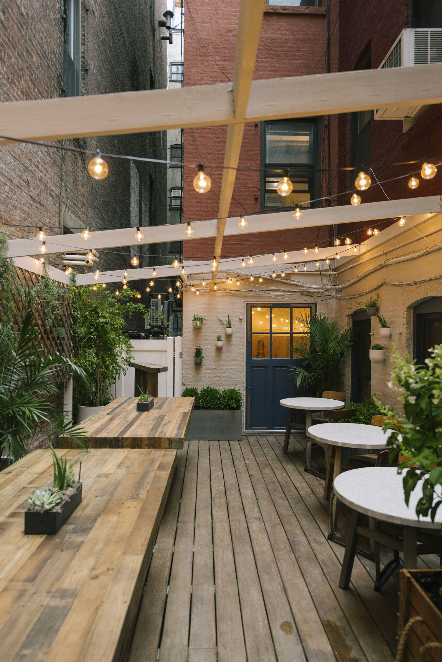Maman\'s Outdoor Space Blossoms In Soho - Front + Main | the places i ...