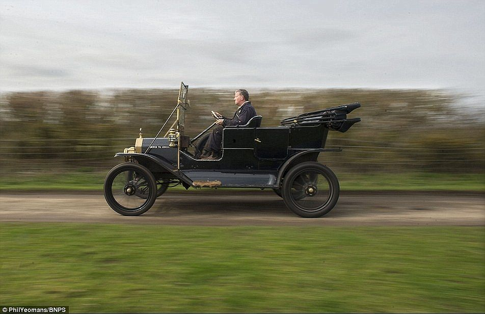 Top Gear Before Telly Incredible 104 Year Old Model T Footage