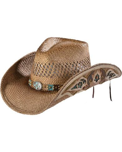 fec65a188 Bullhide From the Heart Straw Cowgirl Hat | custom straw caps ...