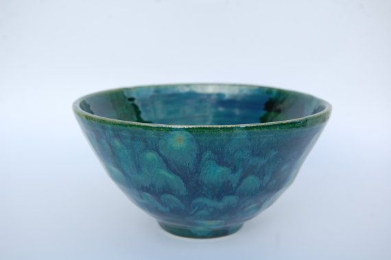 Decorative Ceramic Bowl Decorative Pottery Bowl Handmade In Uk Green Andredceramics