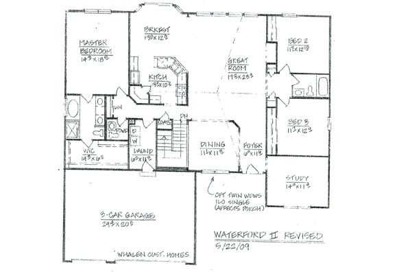 Custom ranch home floor plans home design and style for Custom ranch floor plans