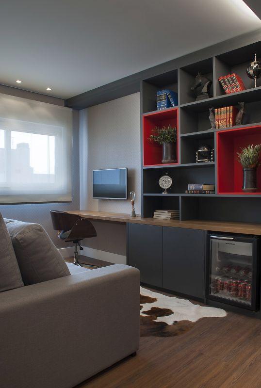Home office study inneneinrichtung arbeitszimmer einrichtung - Arbeitszimmer wandfarbe ...