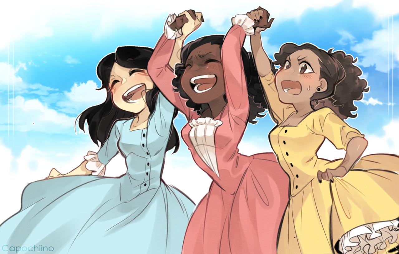 Pin by RAY OUUUYIE on The Schuyler Sisters Hamilton