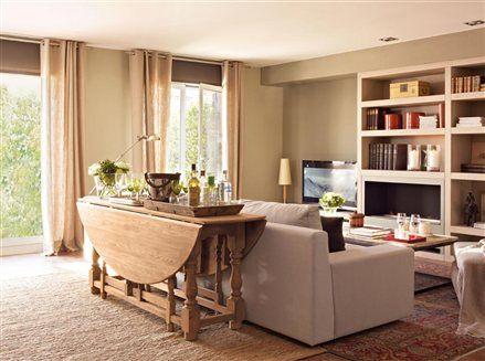 En este piso nada es lo que parece piso peque o pisos for Lamparas para apartamentos pequenos