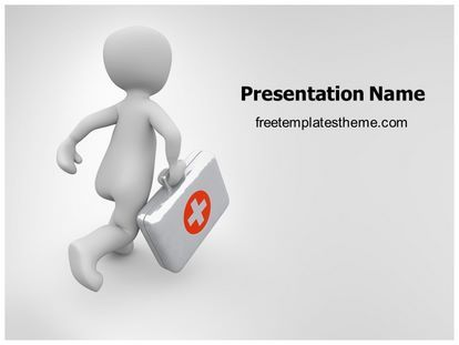 Get this free first aid doctor powerpoint template with get this free first aid doctor powerpoint template with different toneelgroepblik Gallery