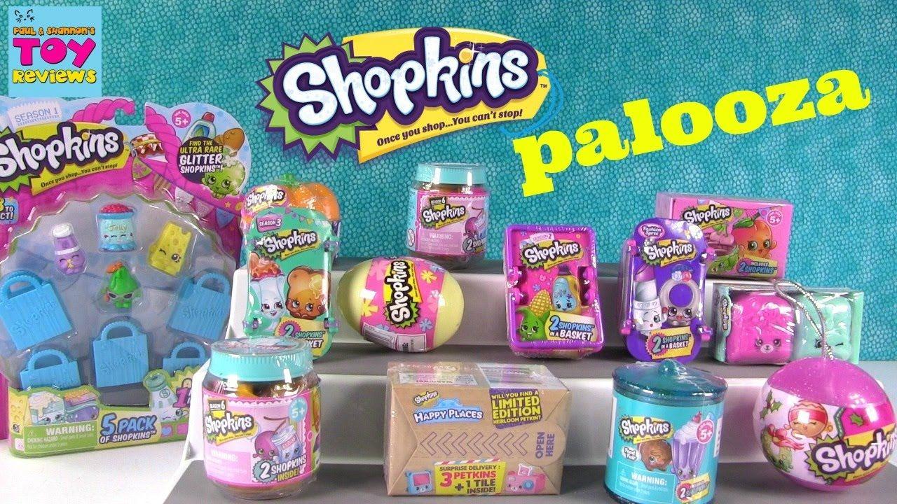 Shopkins Palooza 2 Pack Chef Club Season 1 2 3 4 5 6 Ornament Unboxing Candy Land Birthday Party Candyland Birthday Shopkins