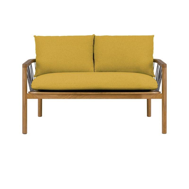 Jose Loveseat Mustard Apartment Sofa Condos For Rent