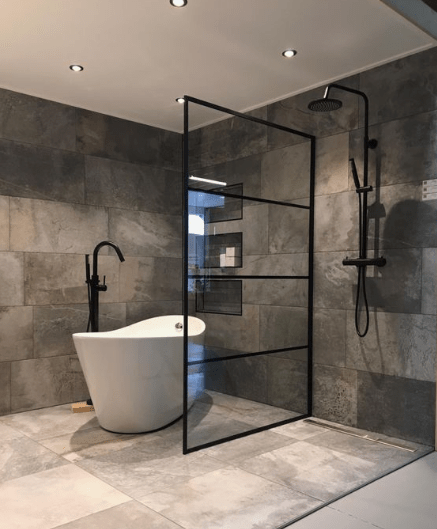 28 Industrial Style Bathrooms Design And Decor Ideas Bathrooms Decor Design Ideas Indu In 2020 Industrial Style Bathroom Industrial Bathroom Design Bathroom Design
