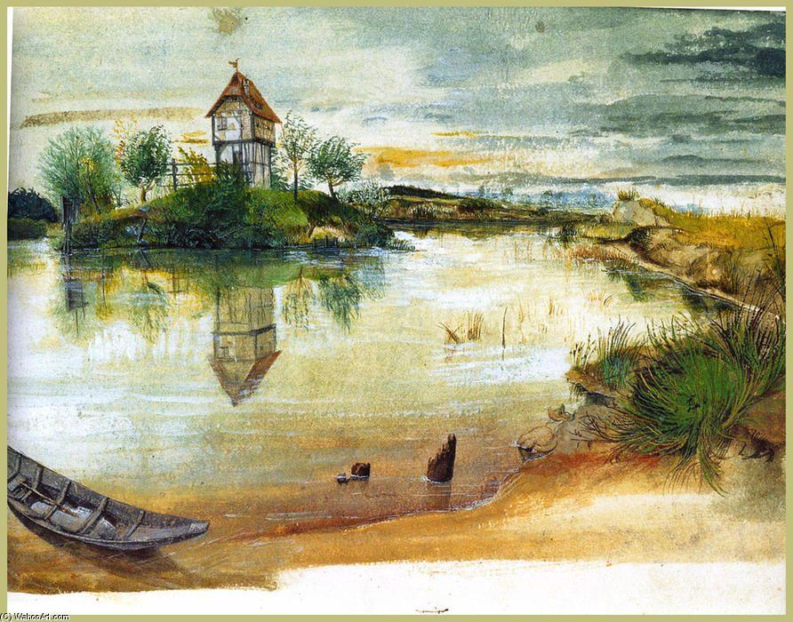 Alte Meister Kunstdruck Hirschkäfer Aquarell Albrecht Dürer