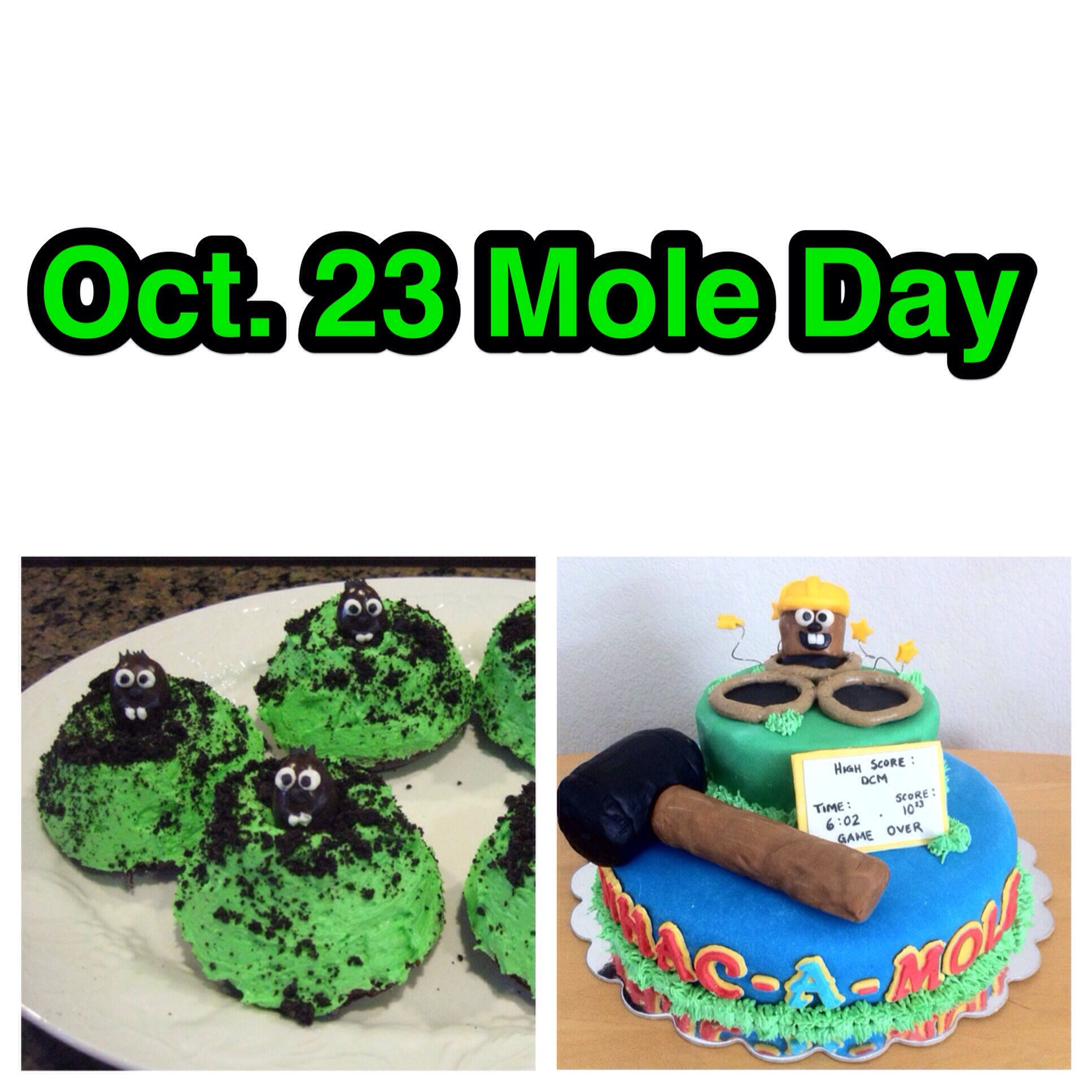 Mole Day Is One Week Away Get Your Mole Cake On Moleday