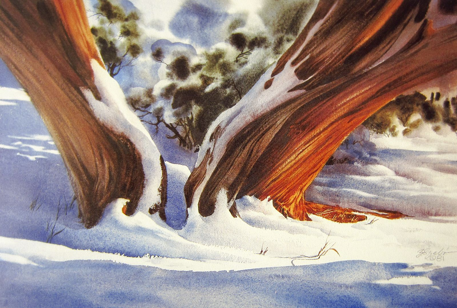 Zoltan Szabo Watercolor Art Traditional Watercolor