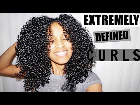 Shingling Method for EXTREMELY Defined Curls ALL Natural Hair Types Gallery