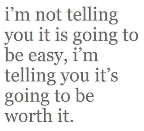Won't be easy