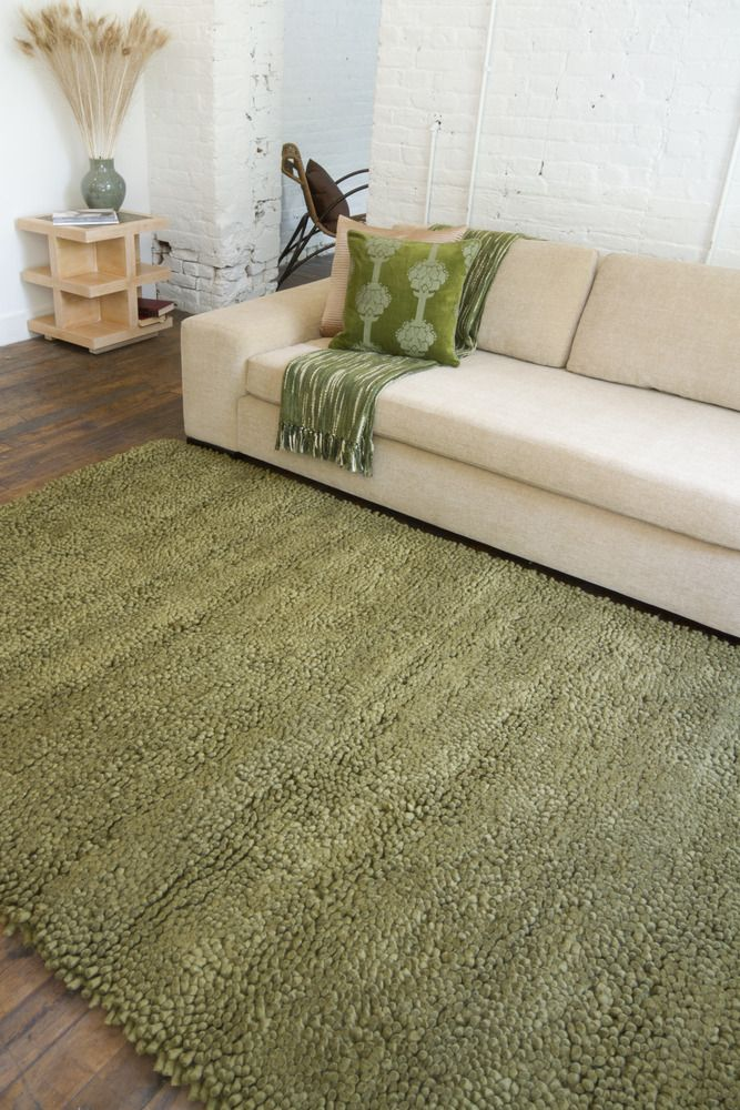This Thick Green Shag Can Brighten Up A Midcentury Design Or Add A Cool Texture To A Modern Space Wol Appartementen