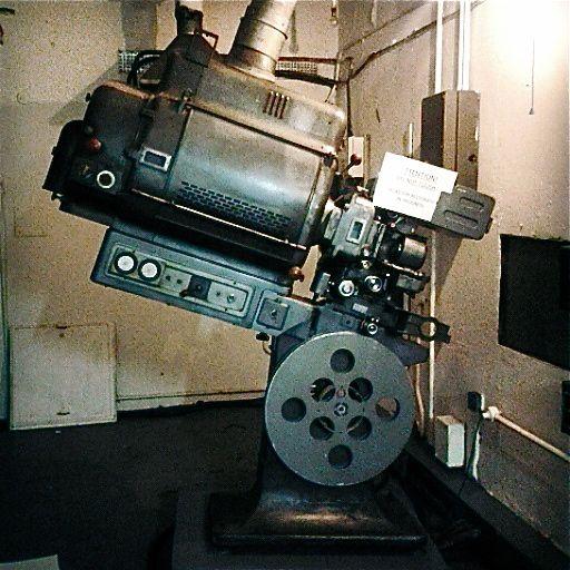 Old Cinema Projector