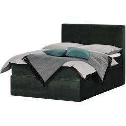 Photo of Box spring bed Boxi ¦ green ¦ Dimensions (cm): W: 140 H: 125 beds> Box spring beds> Box spring beds 140x
