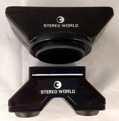 STEREO-WORLD-3D-Slide-Viewer-Stereo-Adapter-Set-49mm-for-35-SLR