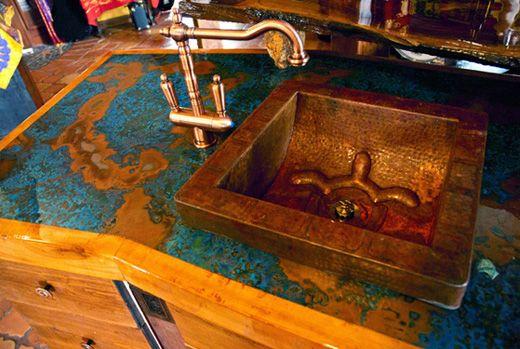 Copper Bar Top Copper Countertops Copper Diy Copper Sink