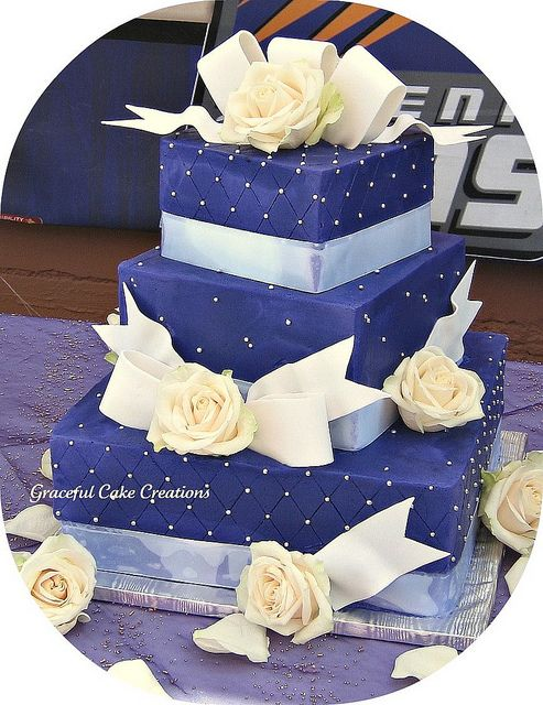 Elegant Purple Square Wedding Cake   Square wedding cakes  Wedding     Elegant Purple Square Wedding Cake   Flickr   Photo Sharing