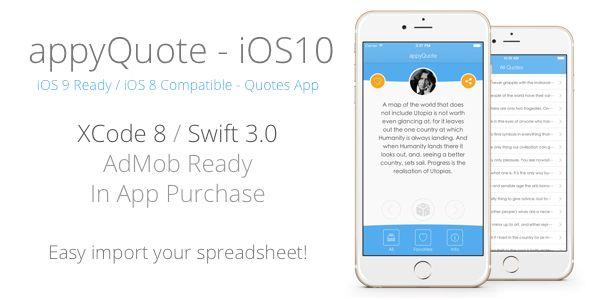 appyQuote - iOS App for Quotes, Jokes, Wishes, Motivation, Money ecc