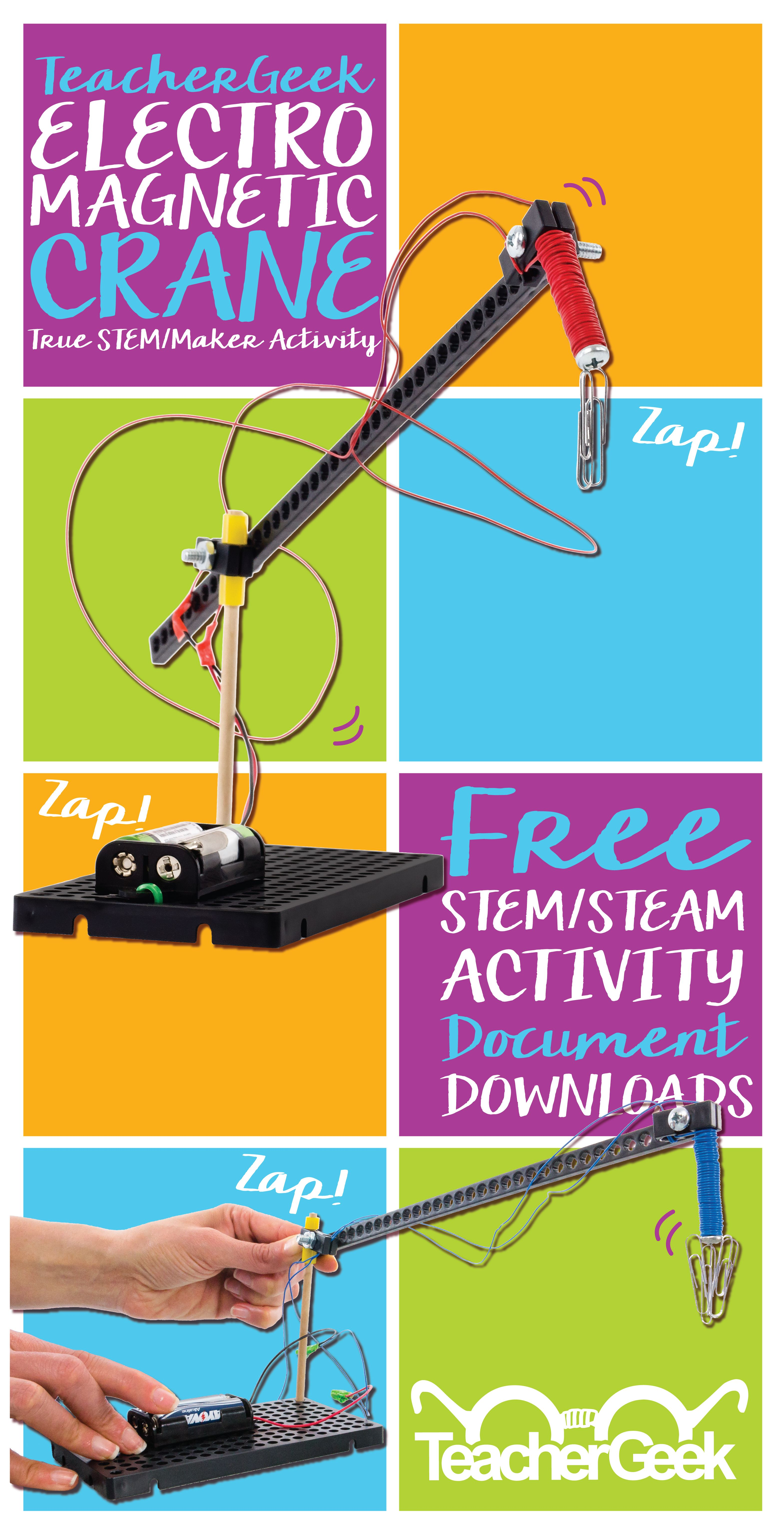 Electromagnet Crane Activity Documents High School Science