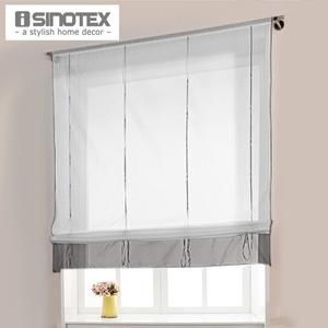 Height Adjustable Roman Curtain Hot Ready Made Curtains For