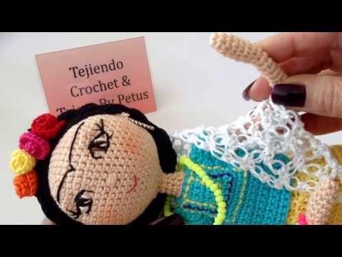 Amigurumis De Frida Kahlo : Frida kahlo amigurumi mini frida doll frida frida kahlo y