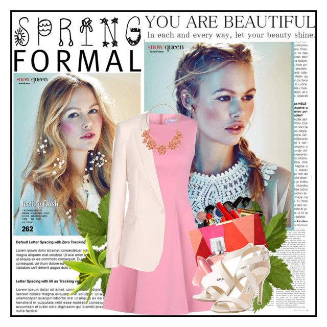 """""""Spring Formal"""" by cindy88 ❤ liked on Polyvore featuring RED Valentino, Chanel, STELLA McCARTNEY, L.K.Bennett, Jimmy Choo, Elizabeth Arden, Dorothy Perkins and springformal"""