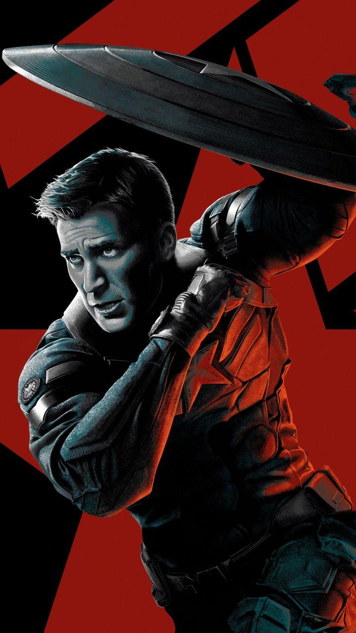 Captain America Chris Evans Marvel Comics Superhero Art 720x1280 Wallpaper Marvel Captain America Marvel Captain America