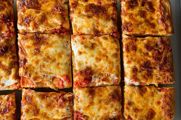 Thick Crust Sicilian Pizza Brown Eyed Baker Recipe Sicilian Pizza Sicilian Style Pizza Sicilian Pizza Recipe