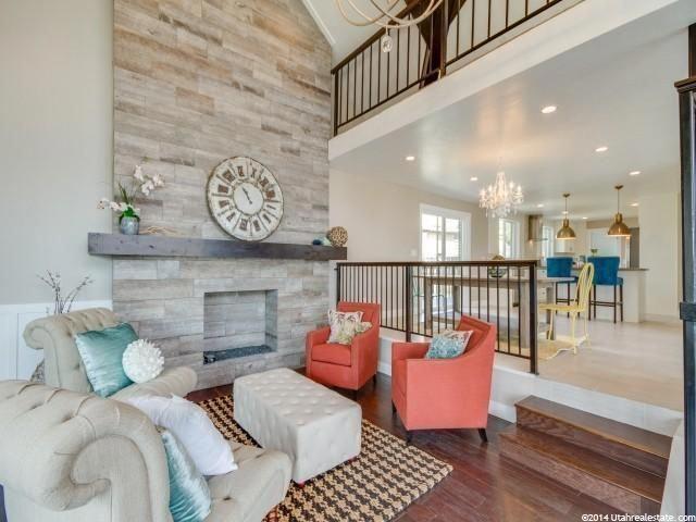 Contemporary Living Room with Linon Home Decor ...