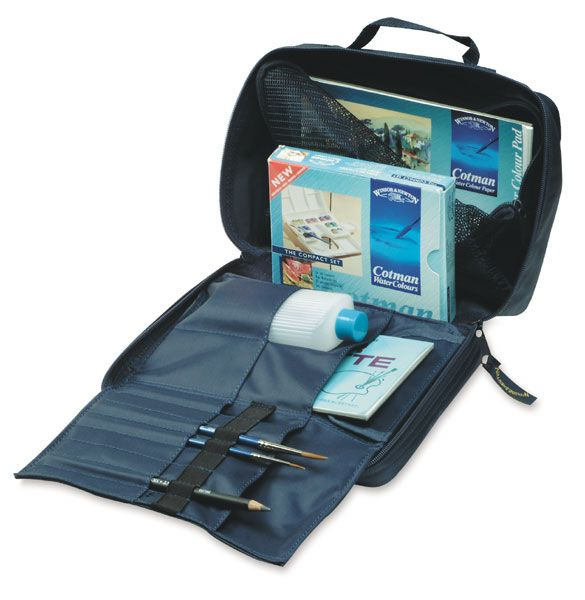 Winsor Newton Cotman Watercolor Pan Sets Art Bag Bags