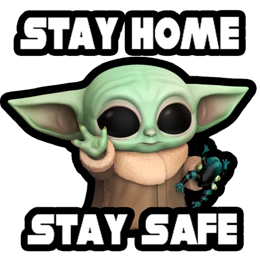Baby Yoda Star Wars Whatsapp Stickers Stickers Cloud Star Wars Yoda Yoda Stickers