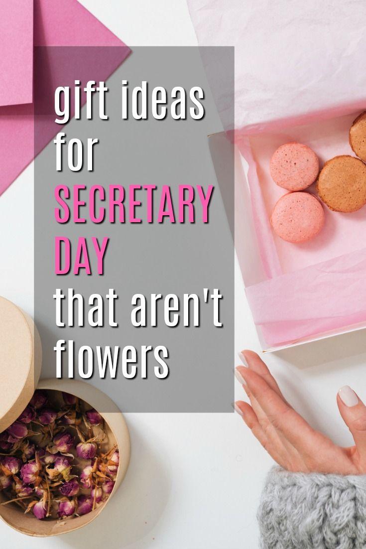 Gift Ideas for Secretary Day That Aren\'t Flowers   Gift Ideas ...