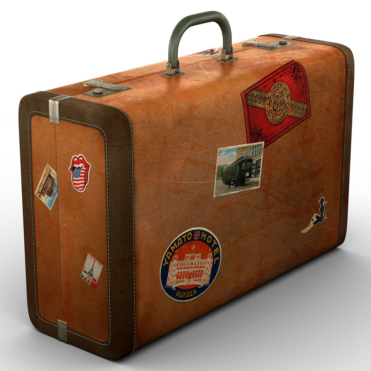 3d model of old suitcase | images | Pinterest | 3d