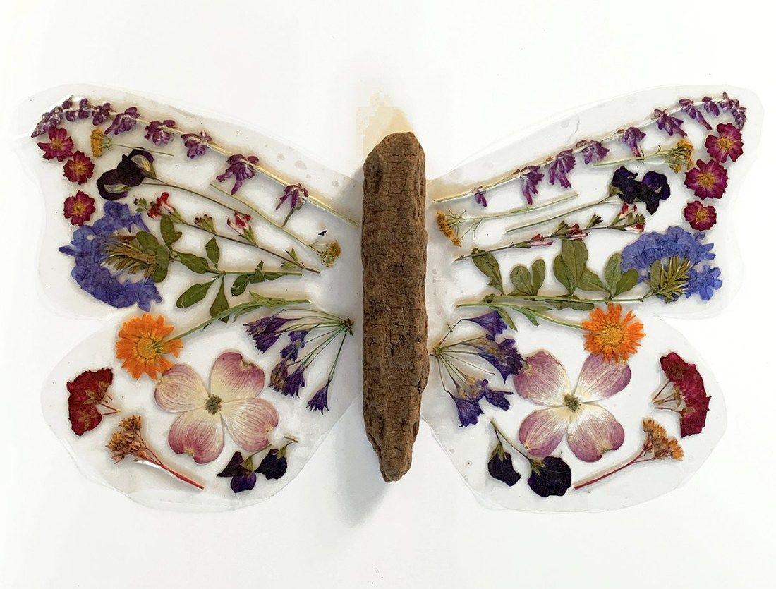 Photo of DIY Flower Butterfly Wings