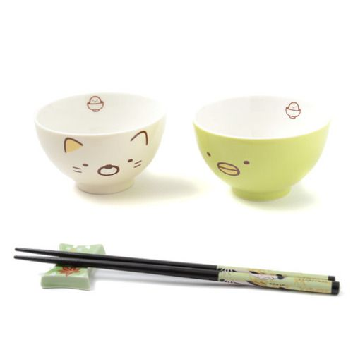 penguin/neko rice bowl  kawaii cute cat fachin bowl kitchen home decor under10 under20 under30 otakumode
