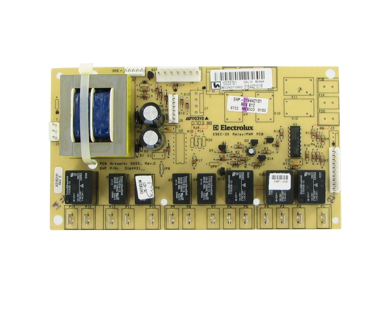 Frigidaire 316442100 Electrical Control | Repairable Control Boards